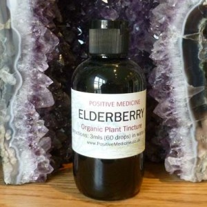 Organic Elderberry Tincture