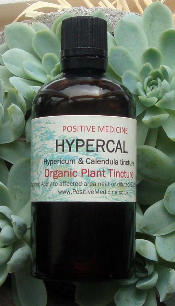 Organic Hypericum and Calendula Tincture