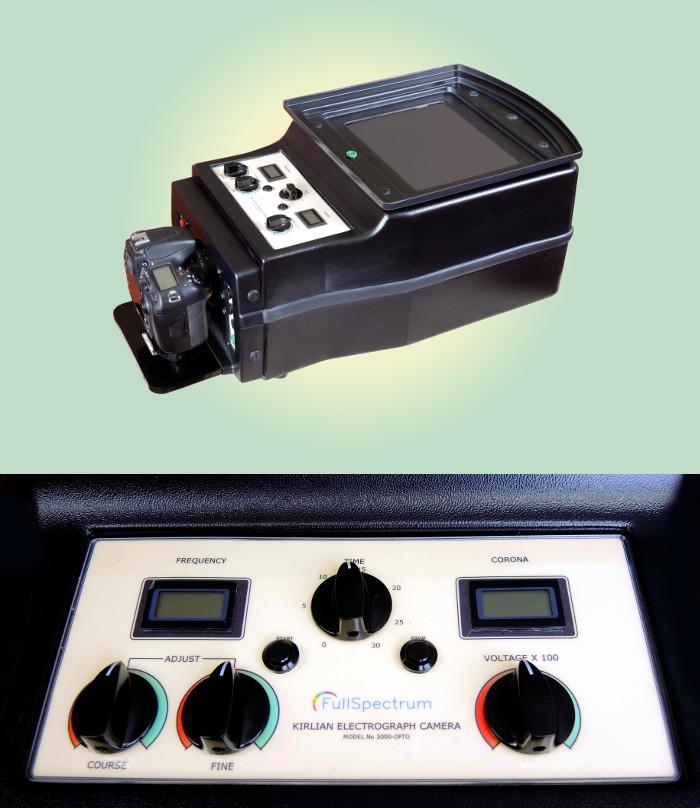 JAK3000 Kirlian Camera