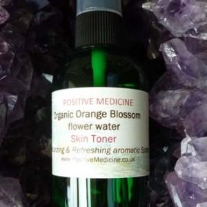 Organic Orange Blossom Flower Water